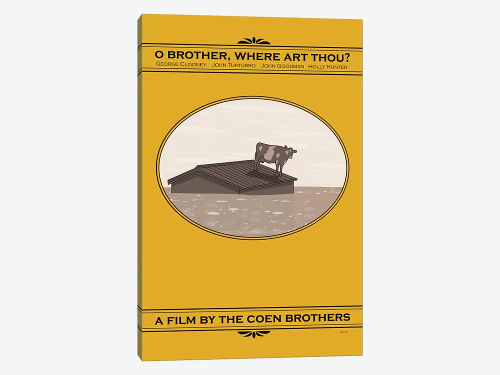 O Brother, Where Art Thou by Claudia Varosio 1-piece Canvas Print