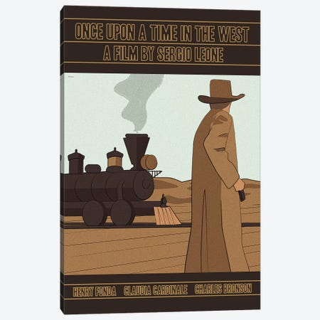 Once Upon A Time In The West Canvas Print #VSI77} by Claudia Varosio Canvas Art Print