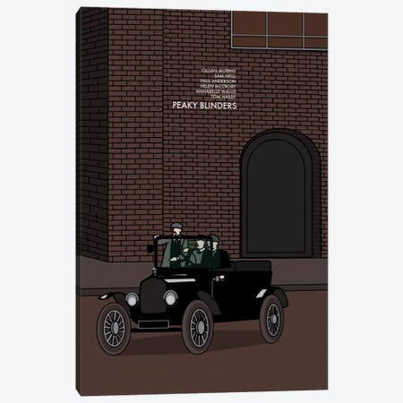 Peaky Blinders Canvas Print #VSI78} by Claudia Varosio Canvas Artwork