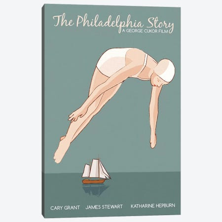 Philadelphia Story Canvas Print #VSI79} by Claudia Varosio Canvas Wall Art