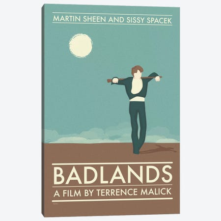 Badlands Canvas Print #VSI7} by Claudia Varosio Art Print