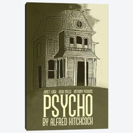 Psycho Canvas Print #VSI81} by Claudia Varosio Canvas Art Print