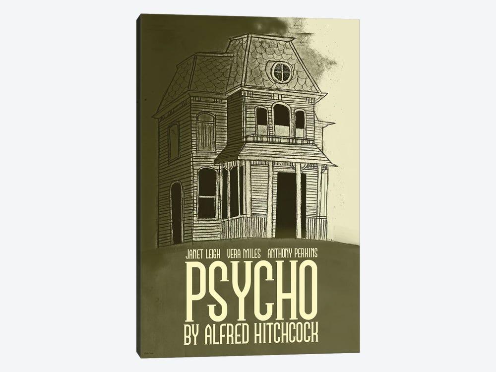Psycho by Claudia Varosio 1-piece Canvas Artwork