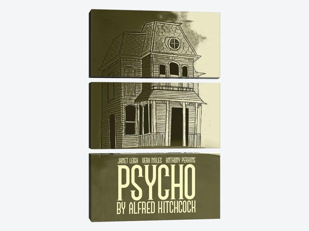 Psycho by Claudia Varosio 3-piece Canvas Artwork