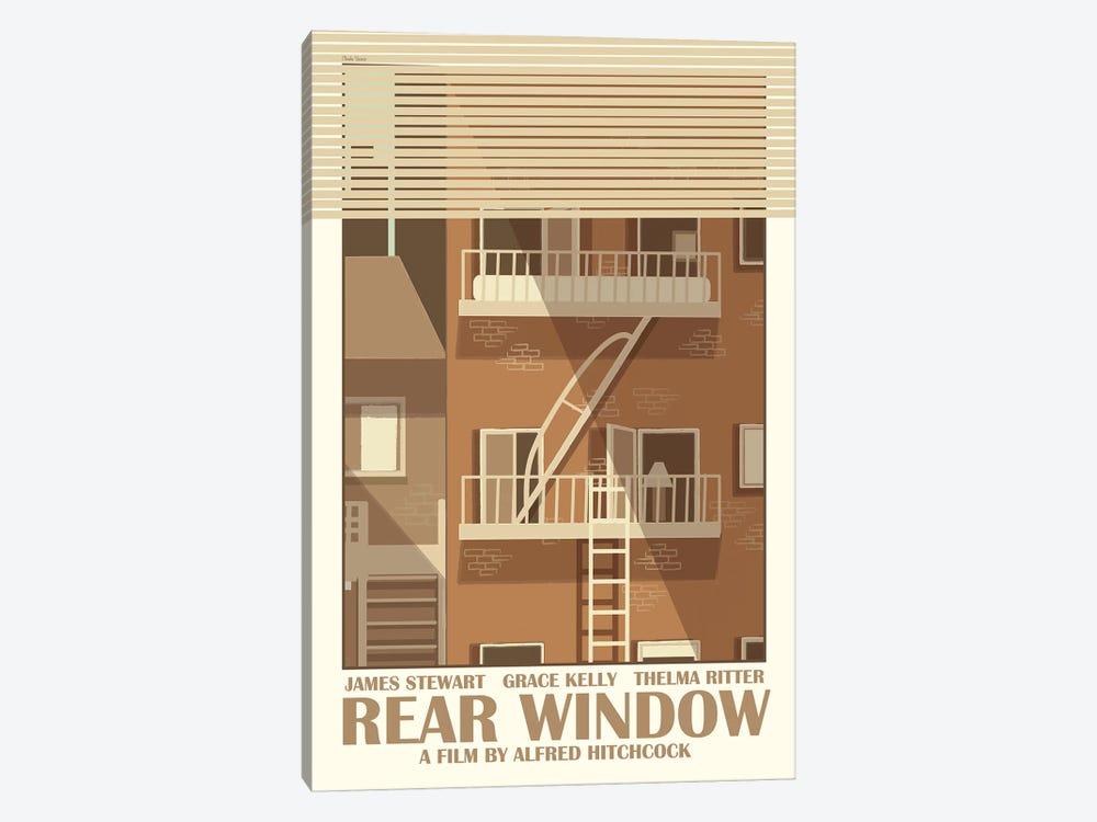 Rear Window by Claudia Varosio 1-piece Canvas Art