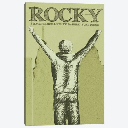 Rocky Canvas Print #VSI86} by Claudia Varosio Canvas Wall Art