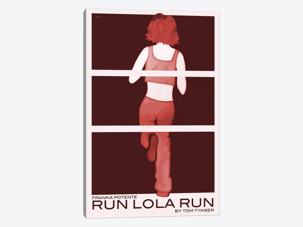 Run Lola Run by Claudia Varosio 1-piece Canvas Print