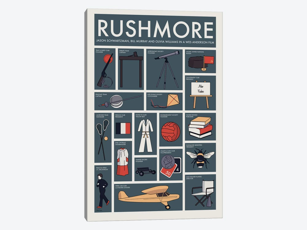Rushmore by Claudia Varosio 1-piece Canvas Artwork