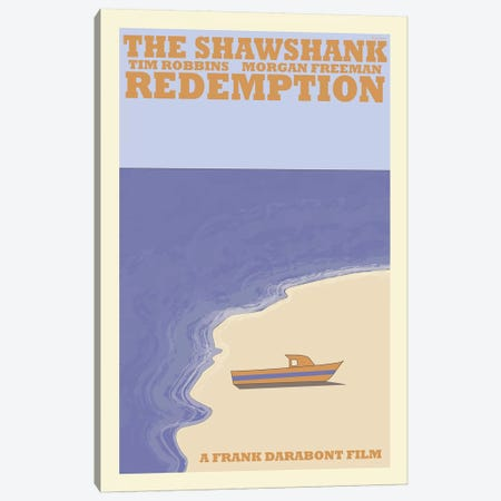 Shawshank Redemption Canvas Print #VSI94} by Claudia Varosio Canvas Art Print
