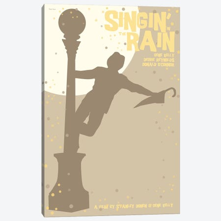 Singing In The Rain Canvas Print #VSI95} by Claudia Varosio Art Print