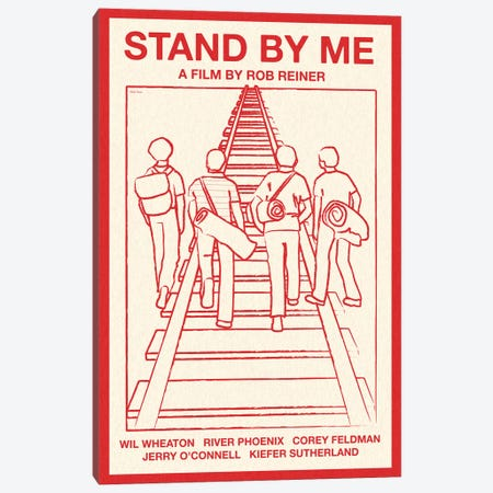 Stand By Me Canvas Print #VSI97} by Claudia Varosio Canvas Art Print