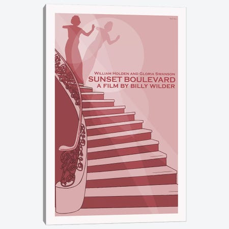 Sunset Boulevard Canvas Print #VSI98} by Claudia Varosio Canvas Wall Art