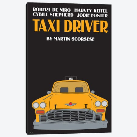 Taxy Driver Canvas Print #VSI99} by Claudia Varosio Canvas Wall Art