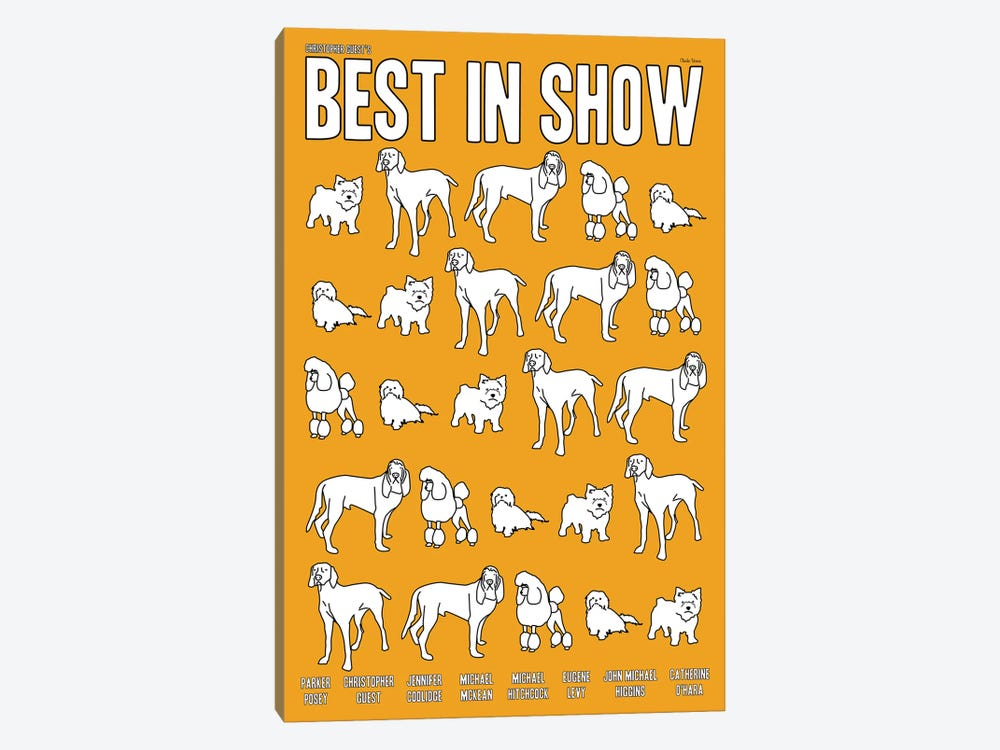 Best In Show by Claudia Varosio 1-piece Canvas Art