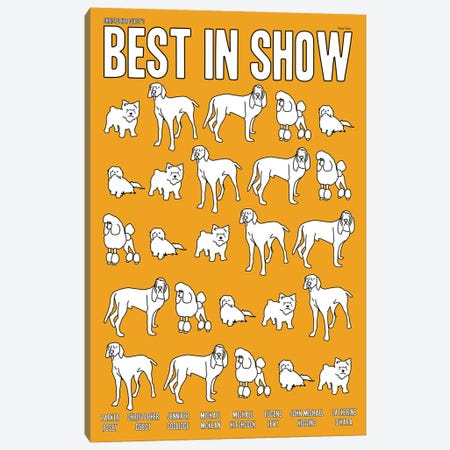 Best In Show Canvas Print #VSI9} by Claudia Varosio Canvas Artwork