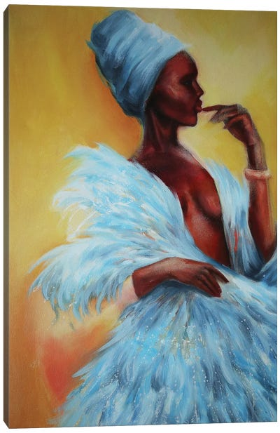 Bright Beauty Canvas Art Print