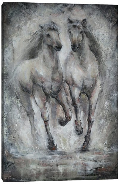Free Power Canvas Art Print