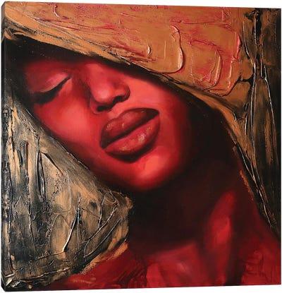 Golden Eyes I Canvas Art Print