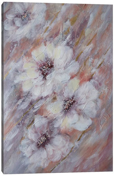 Delicate Flower Canvas Art Print