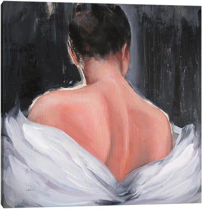 Woman Back Canvas Art Print