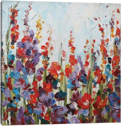 Bright Flowers Canvas Art Print