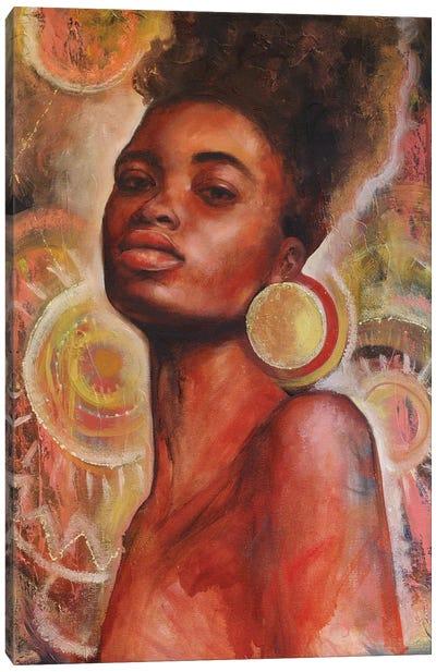 African Queen I Canvas Art Print