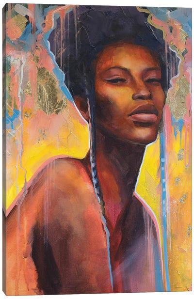 African Queen II Canvas Art Print