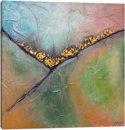 Golden Valley I Canvas Art Print