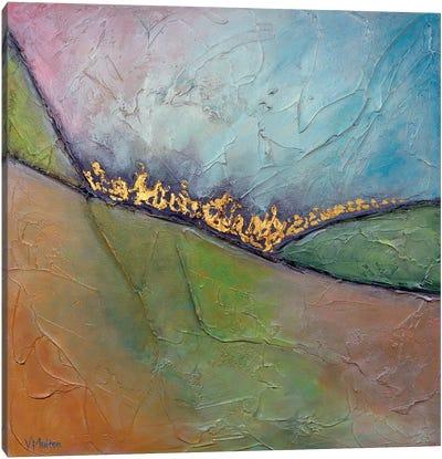 Golden Valley II Canvas Art Print