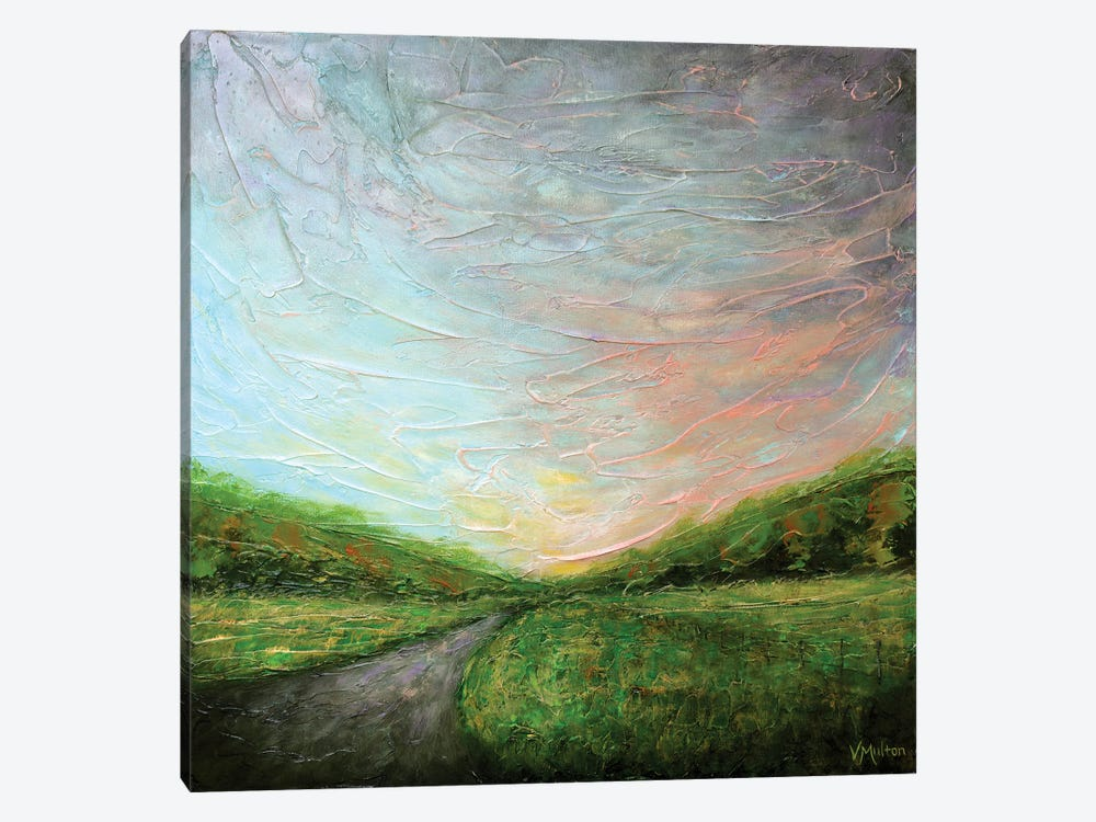 Miles To Go by Vanessa Sharp Multon 1-piece Canvas Wall Art