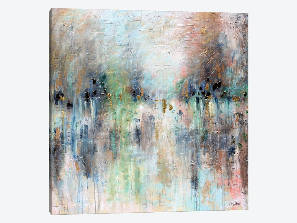 Oneness Of Spirit by Vanessa Sharp Multon 1-piece Canvas Art