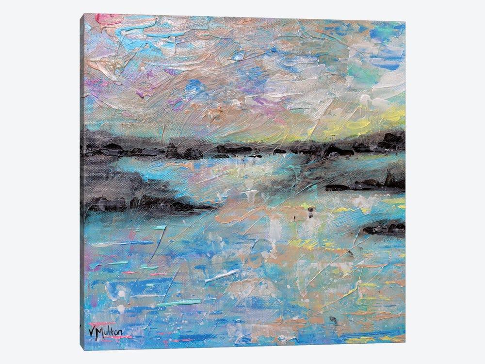 Salt Summer I by Vanessa Sharp Multon 1-piece Canvas Artwork