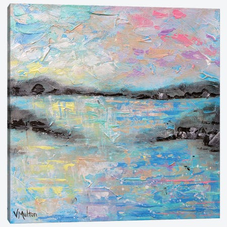 Salt Summer II Canvas Print #VSM29} by Vanessa Sharp Multon Canvas Print
