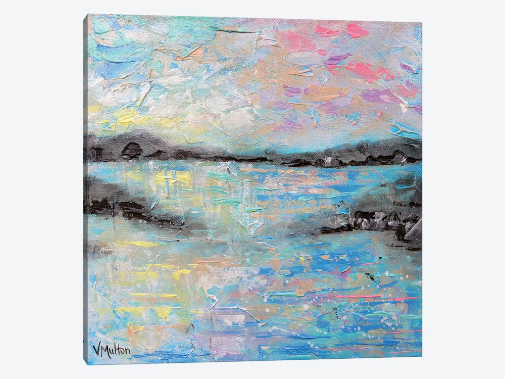 Salt Summer II by Vanessa Sharp Multon 1-piece Canvas Print