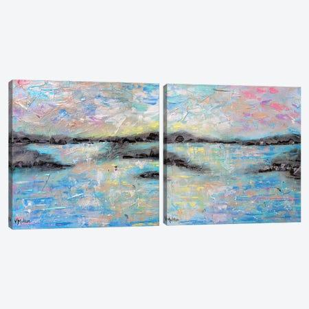 Salt Summer Diptych Canvas Print Set #VSM2HSET002} by Vanessa Sharp Multon Canvas Print