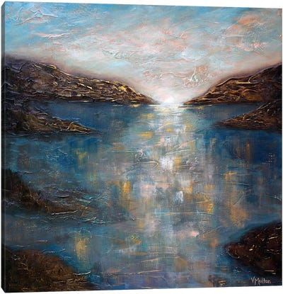Sapphire Waters Canvas Art Print