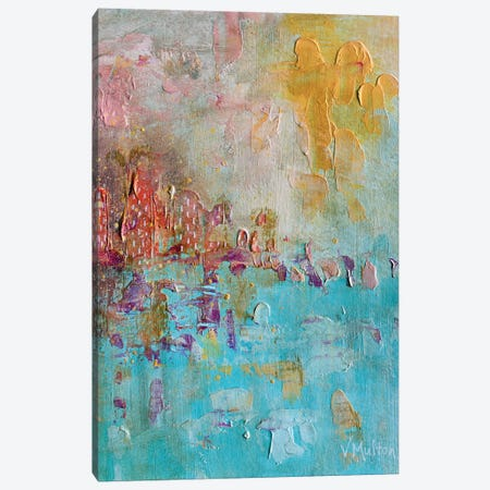 Sun Washed Canvas Print #VSM31} by Vanessa Sharp Multon Canvas Artwork