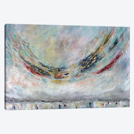 Symphony In Air Canvas Print #VSM32} by Vanessa Sharp Multon Canvas Wall Art