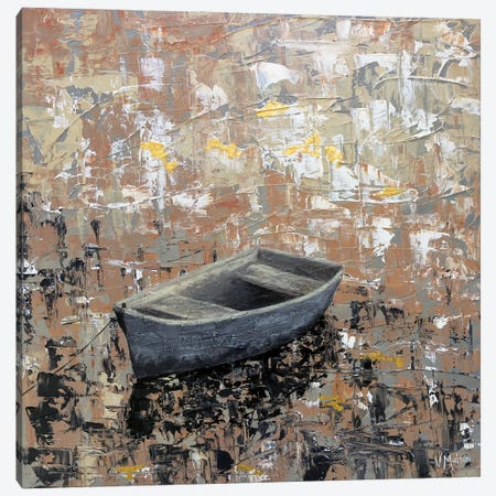 The Bliss Of Solitude Canvas Print #VSM34} by Vanessa Sharp Multon Canvas Art Print