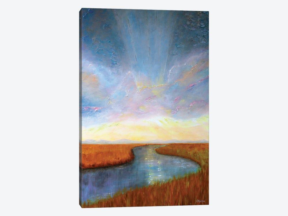 Uplifting by Vanessa Sharp Multon 1-piece Canvas Art Print