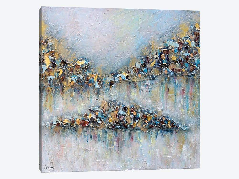 Whisper On The Water I by Vanessa Sharp Multon 1-piece Canvas Wall Art