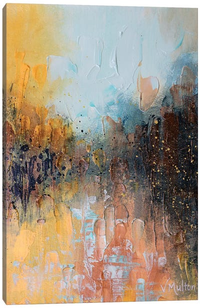 Bathed In Sunlight Canvas Art Print