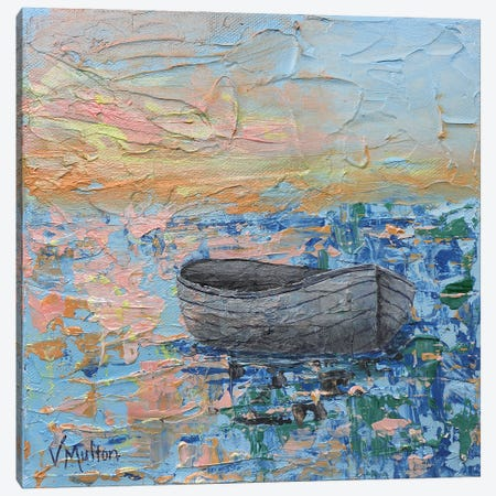 Afloat Canvas Print #VSM42} by Vanessa Sharp Multon Art Print
