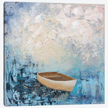 Deep Blue Canvas Print #VSM46} by Vanessa Sharp Multon Canvas Wall Art