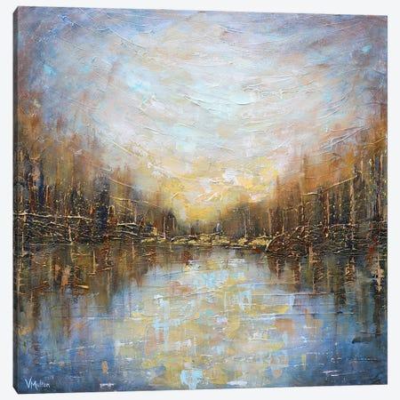 Hope In The Distance Canvas Print #VSM49} by Vanessa Sharp Multon Art Print