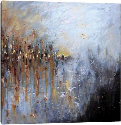 Suspended On The Horizon Canvas Art Print