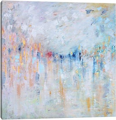 Walking In A Dream Canvas Art Print