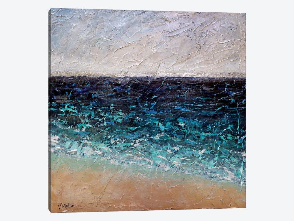 By The Shore by Vanessa Sharp Multon 1-piece Canvas Wall Art