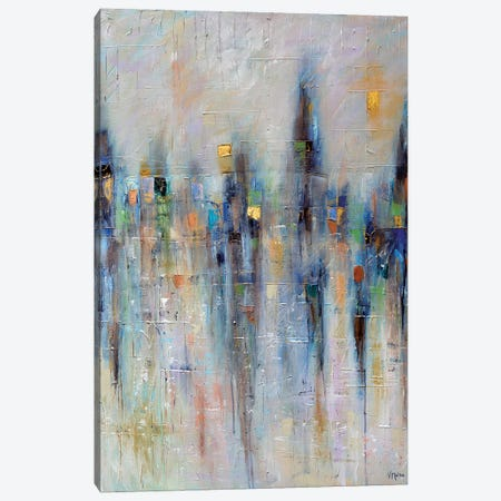 City Of Hope And Peace Canvas Print #VSM8} by Vanessa Sharp Multon Canvas Artwork