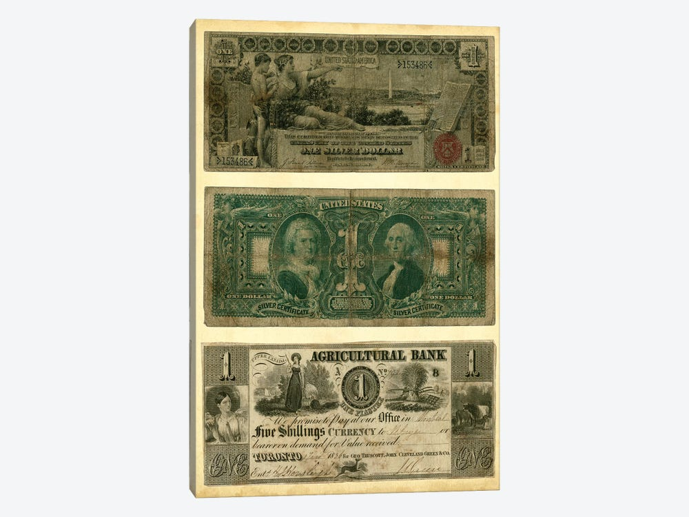 Antique Currency V by Vision Studio 1-piece Art Print